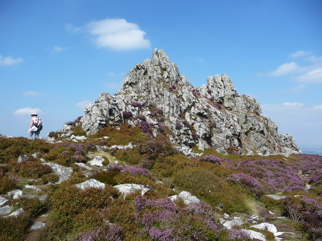 On the Stiperstones at the Devil's Chair