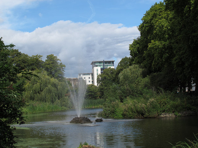 Lake in King George's Park