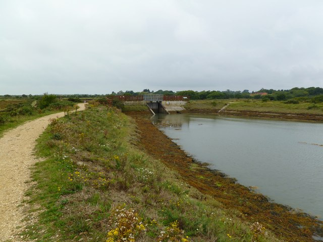 Oxey Marsh, sluice