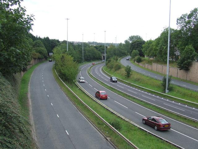A690 through Houghton-le-Spring