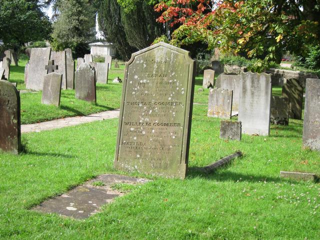 Graves at St Nicholas Church