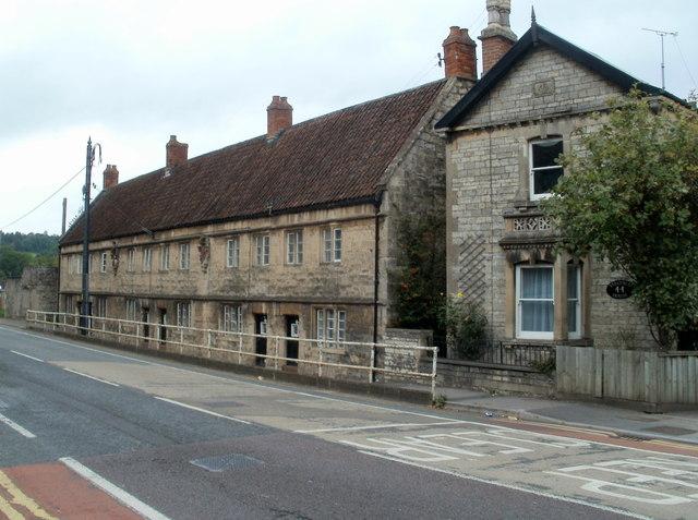 Grade II listed Bridges Almshouses, Keynsham