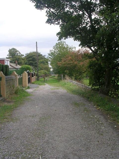 Footpath - Street Lane