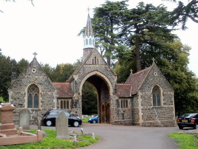 Grade II listed chapels, Keynsham Cemetery