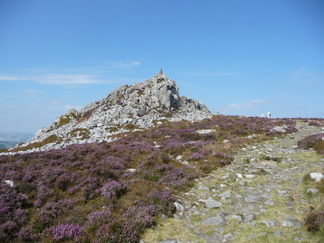 Manstone Rock on Stiperstones