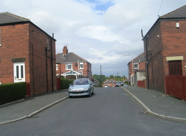Vicarage Avenue - looking towards Finkle Lane