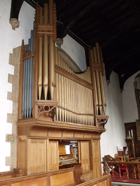 Organ at All Saints' Church, Collingham