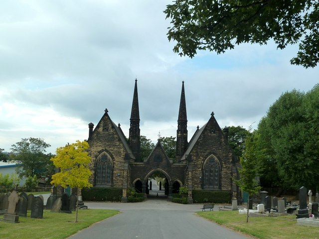 Chapels in Tinsley Park Cemetery