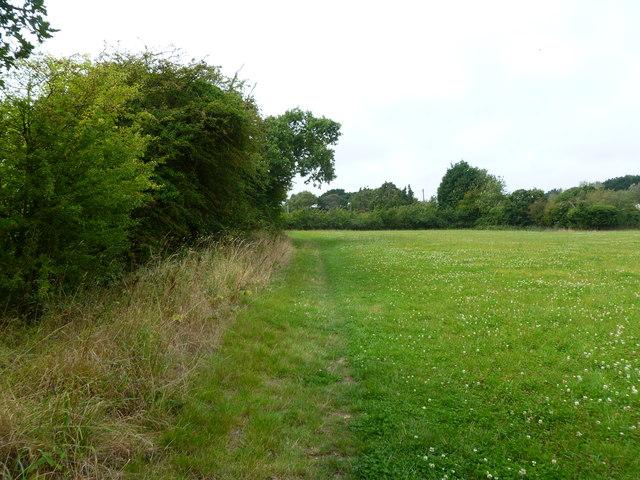 Lower Pennington, footpath