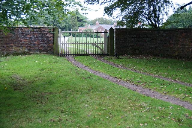 Home Farm from Dunham Massey