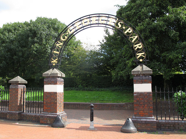 Entrance to King George's Park