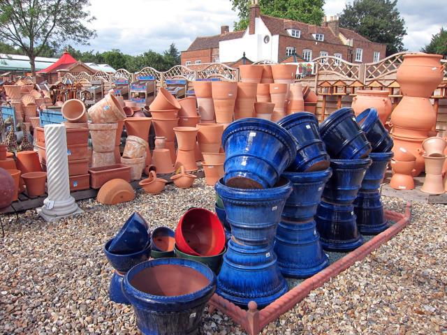 Pots at Ruxley Manor Garden Centre