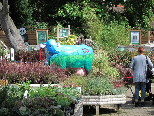 Cow at Ruxley Manor Garden Centre
