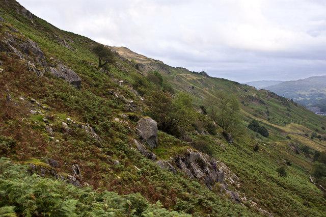 The hillside above Ellers