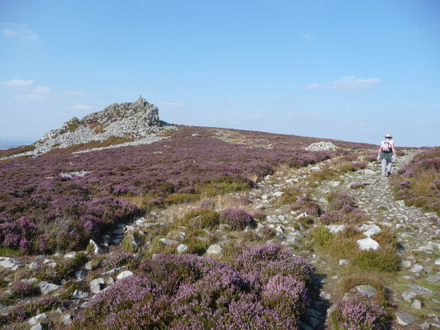 Manstone Rock on the Stiperstones