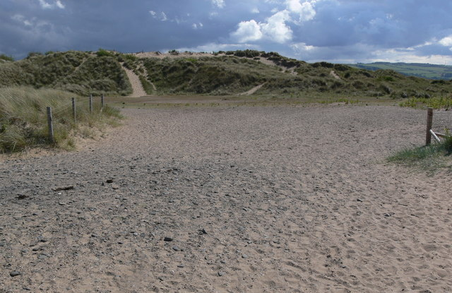 Sand dunes at Talacre