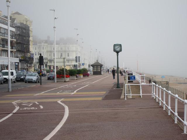 Fog on Grand Parade