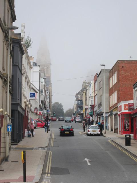Fog on London Road