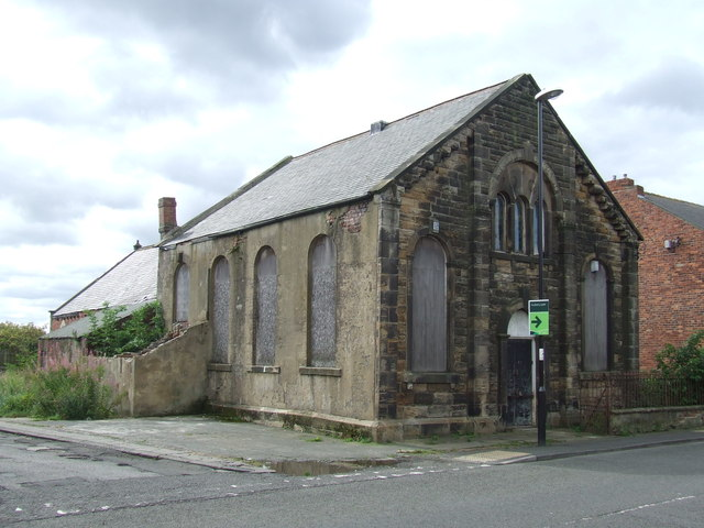 Disused chapel near Houghton-le-Spring