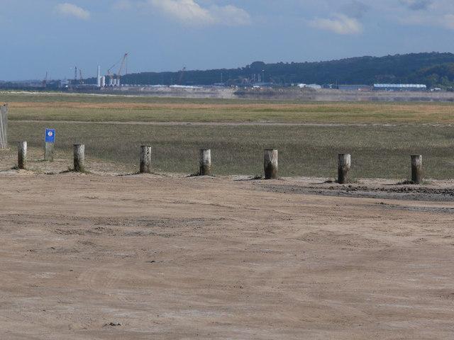 Car park at Talacre Beach