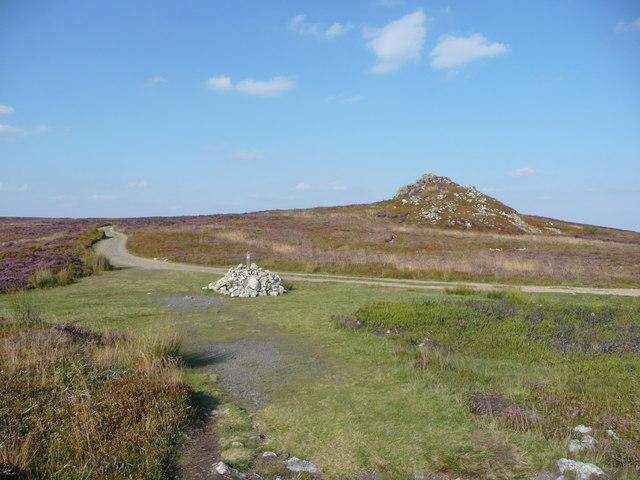 Cairn near Shepherd's Rock, Stiperstones