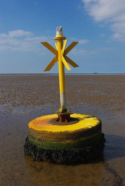 Hunstanton Beach buoy
