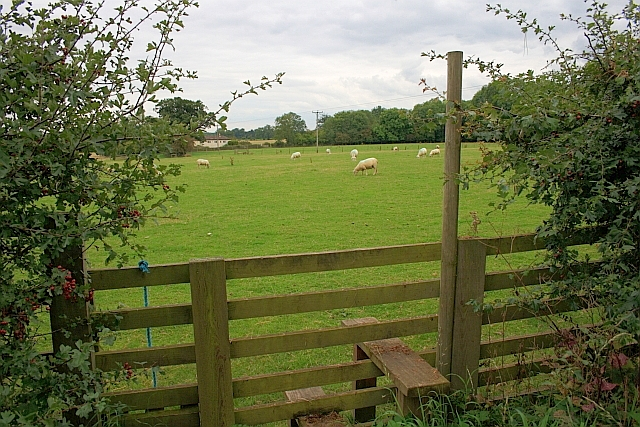 Stile on Footpath off New Road
