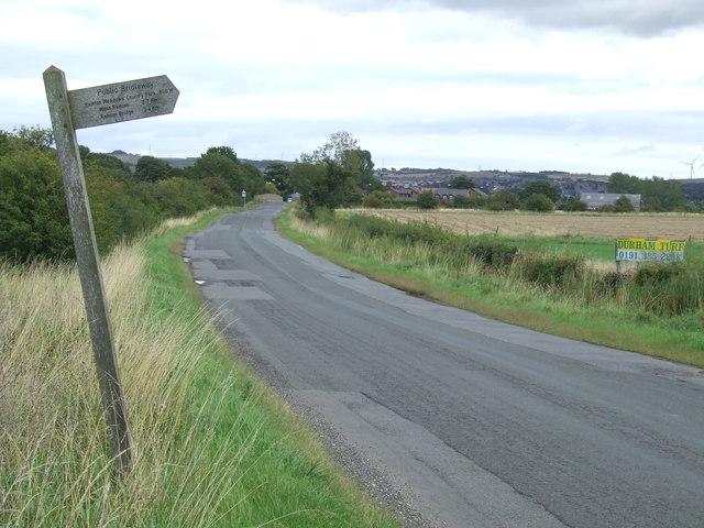 Black Boy Road, near Houghton-le-Spring