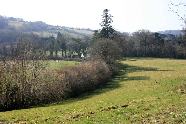 The Glaze Brook valley