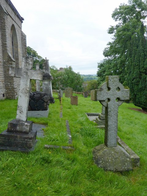 Holy Trinity Church, Feetham, Graveyard