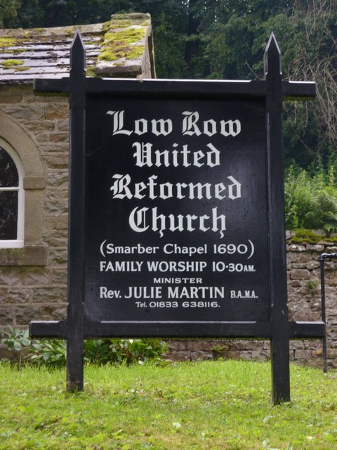 Low Row URC, Sign