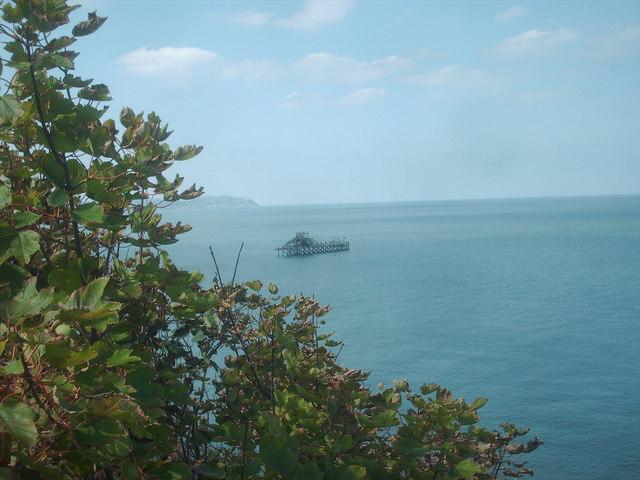 Llanddulas jetty island