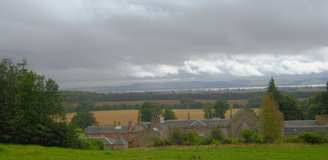 Storm over Rossie Priory