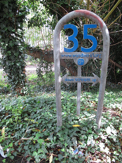 Wandle Trail marker 35