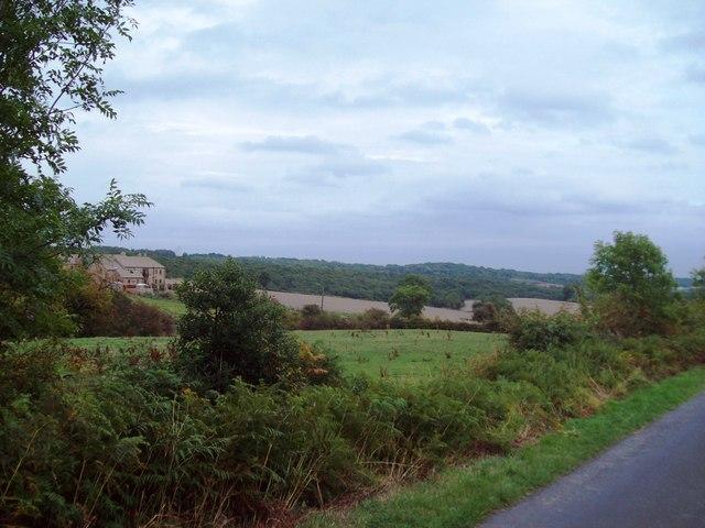 Mixed Arable Land near Spout House Lane