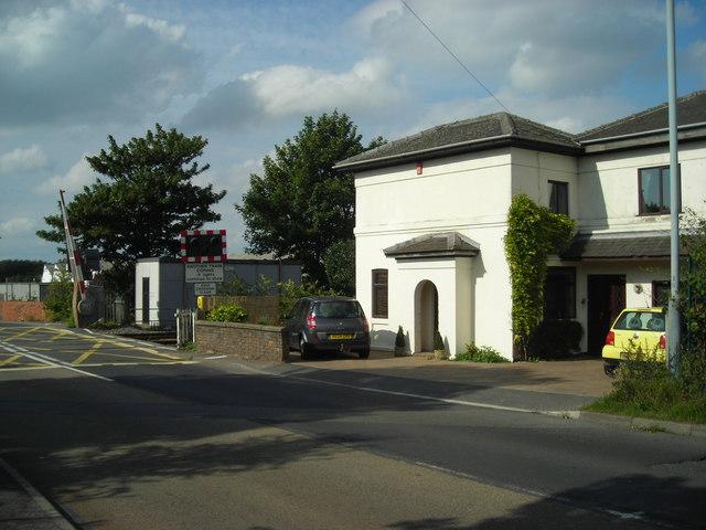 Level Crossing, Coxmoor Road