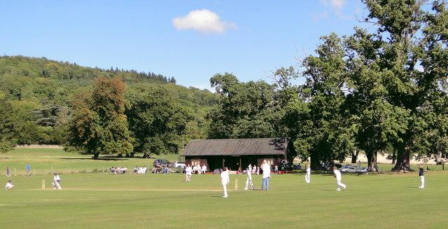 Cricket ground, Garnons