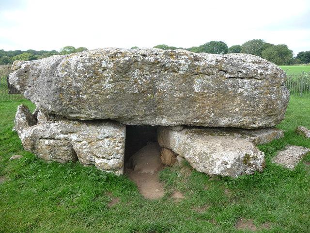 Lligwy Burial Chamber entrance