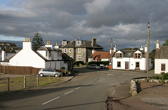 The village of Borgue