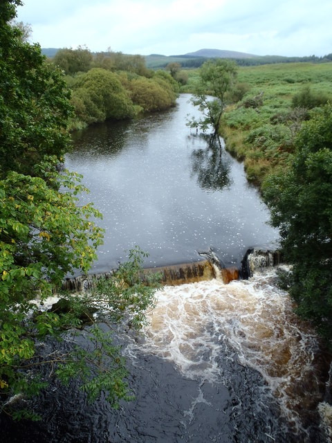 The River Dee from Hensol Bridge