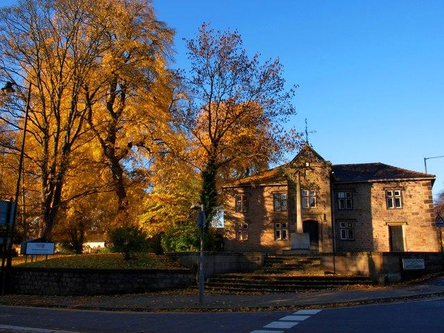 Old Grammar School in Autumn