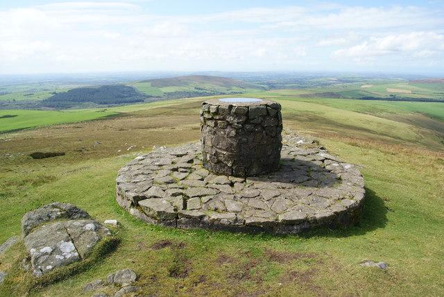 The top of Foel Eryr