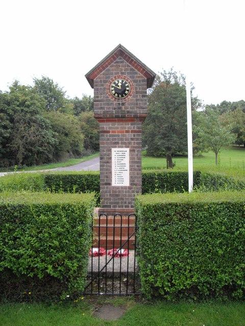 War memorial, Studham