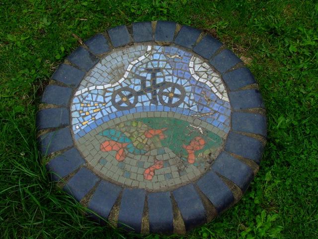 Riverside mosaic