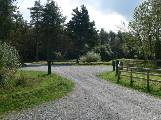 Malltraeth woods car park