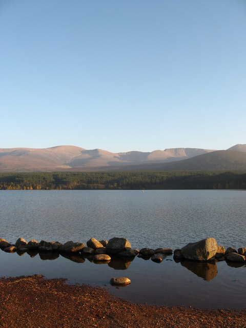 Northern Corries from Loch Morlich