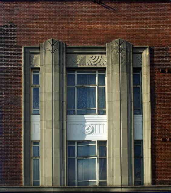 Art Deco detail, Forest Gate