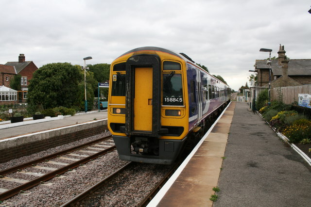 Hutton Cranswick Railway Station