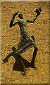 TQ4085 : Evangelist with shadow, Forest Gate : Week 35