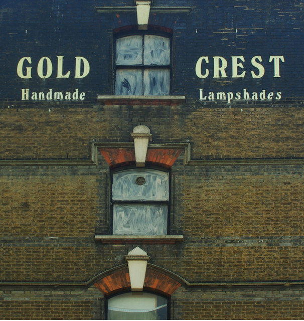 'Ghost sign', Upton Lane, Forest Gate
